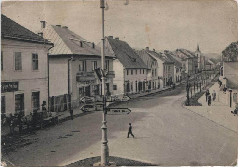 Gospic, Mirkova ulica