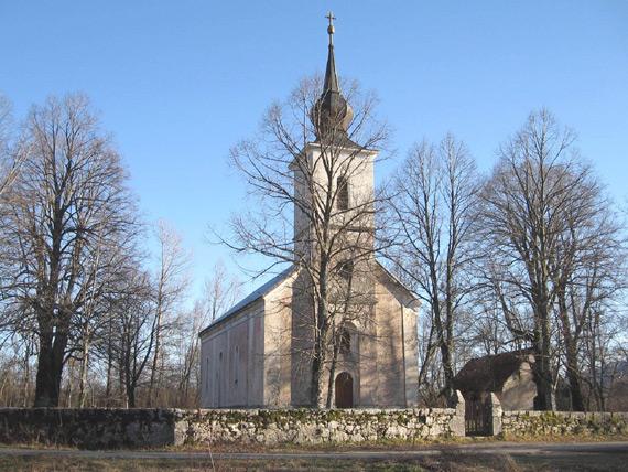 Medak, crkva