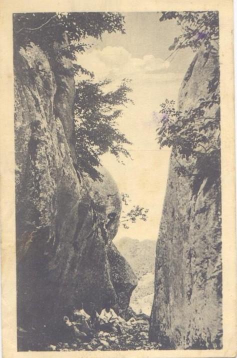 Разбојна драга у Велебиту код Почитеља, снимак из 1926. године