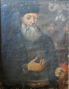 портрет Данила Љуботине као епископа карловачко-сењско приморског (настао у 18. вијеку, непознатог аутора). фотографија Ане Кашћелан