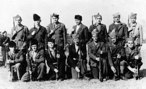Група бораца четника из Лике