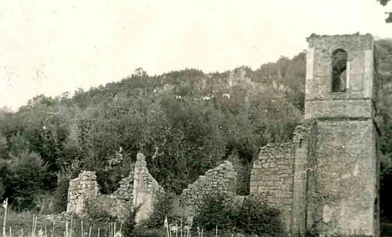 porušena pravoslavna crkva u Smiljanu