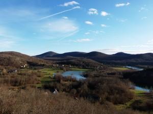 Средишњи дио села Млаква